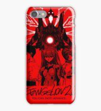 Evangelion Poster iPhone Case/Skin