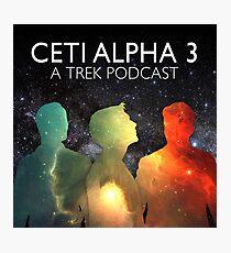 Ceti Alpha 3 Photographic Print