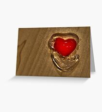 The Warmth of Love Greeting Card