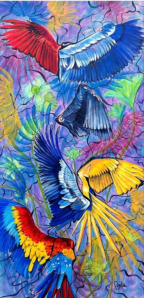 Wings of a feather by Ciska