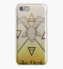 The Devil Card iPhone Case/Skin