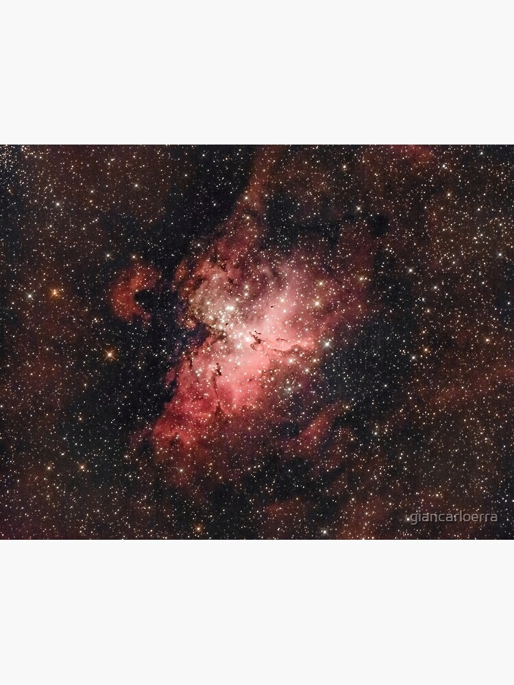 "Eagle Nebula (Hubble's ""Pillars Of Creation"") by giancarloerra"