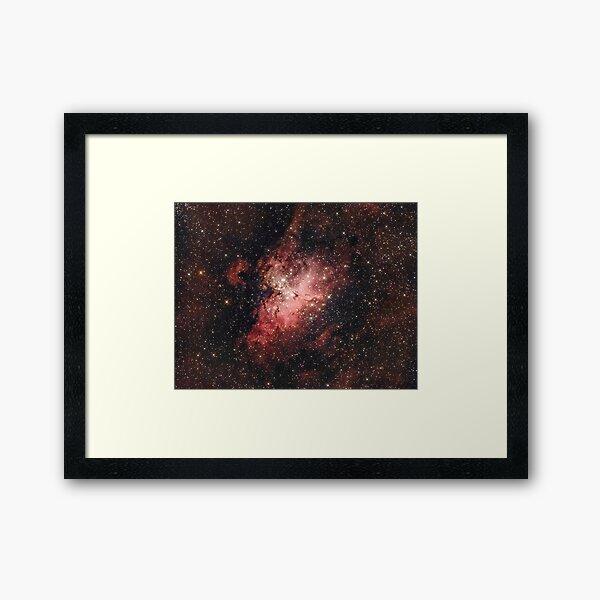 "Eagle Nebula (Hubble's ""Pillars Of Creation"") Framed Art Print"