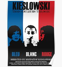 Kieslowski - Three Colours Trilogy Poster