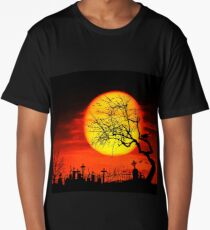 Halloween landscape Long T-Shirt