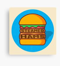Steamed Hams Canvas Print
