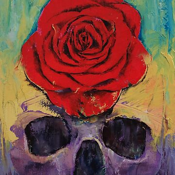Skull Rose by michaelcreese