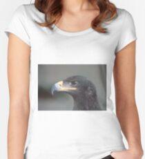 STEPPE EAGLE. Tailliertes Rundhals-Shirt