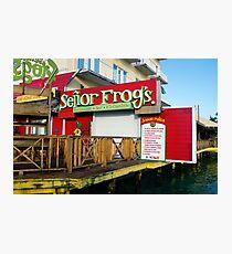 Senor Frog's Photographic Print