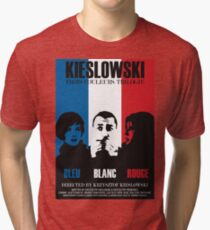 Kieslowski - Three Colours Trilogy Tri-blend T-Shirt