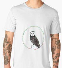 Barn owl  Men's Premium T-Shirt
