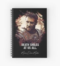 Death Smiles At Us All - MAXIMUS Spiral Notebook
