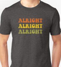 Alles klar Alles klar Retro 1970 Design Slim Fit T-Shirt