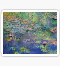 Water Garden Sticker