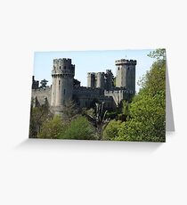 WARWICK CASTLE, Warwickshire, England Greeting Card