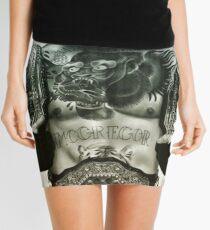 FIGHT Mini Skirt