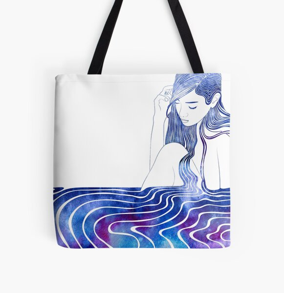 Nereid XVI All Over Print Tote Bag