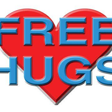 Free Hugs by LGBT-shirts