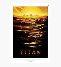 Titan: Ride the Tides Through the Throat of the Kraken Photographic Print