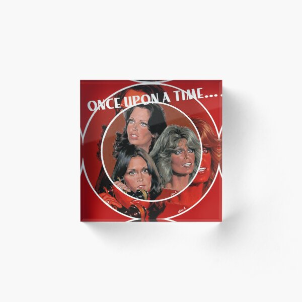 Once Upon A time... Acrylic Block