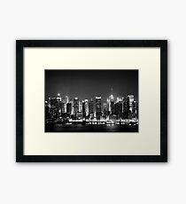 West Side Story - New York  Framed Print