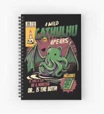Cathulhu Spiral Notebook