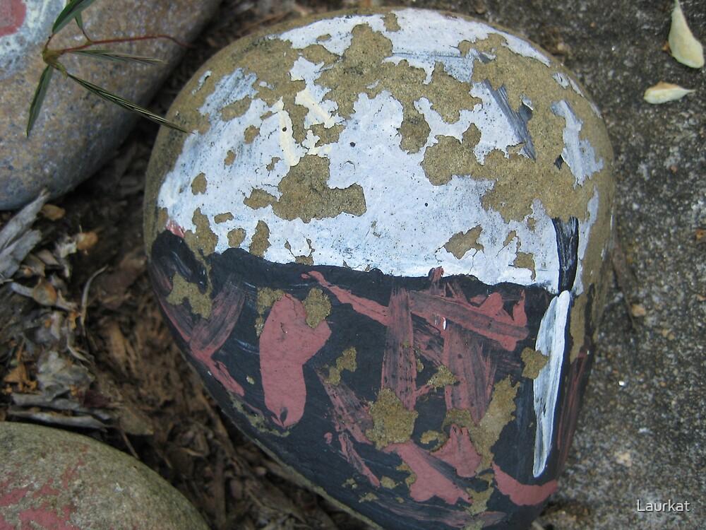 Sandy Plains Road rock art by Laurkat