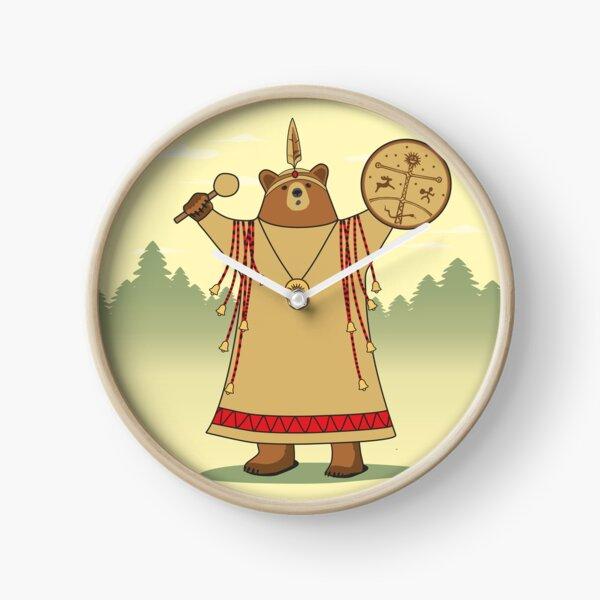Bear Shaman Clock