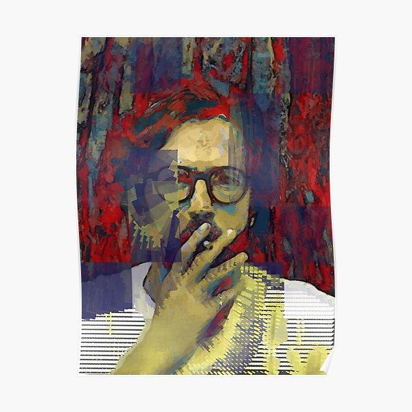 Étude d'Eric Clapton (buste) Poster