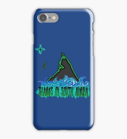 The Coast of Sharks iPhone Case/Skin