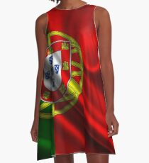 Flag of portugal A-Line Dress