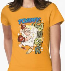 Tommy V Cancer! Women's Fitted T-Shirt