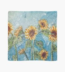 A Summer of Sunflowers  Scarf