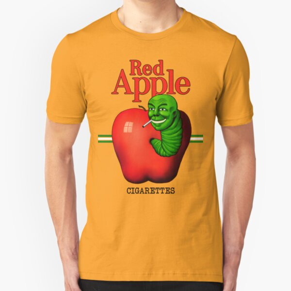 Red Apple Cigarettes Slim Fit T-Shirt