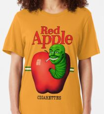 Red Apple Cigarettes Slim Fit T-Shirt