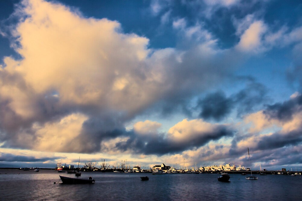 Morning on Provincetown Harbor by Philip James Filia