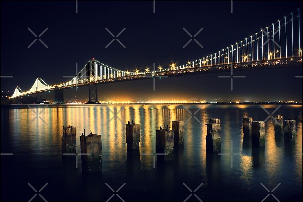 San Francisco Bay Bridge Illuminated by Jenn Ramirez