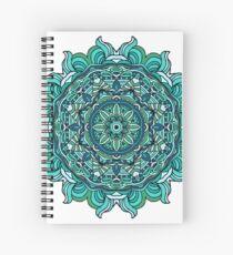 Blue mandala Spiral Notebook