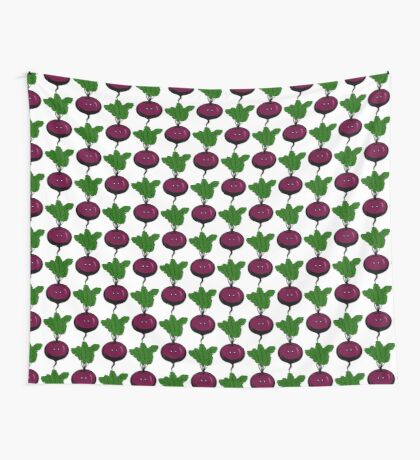 STPC: Nervous Beet Wall Tapestry