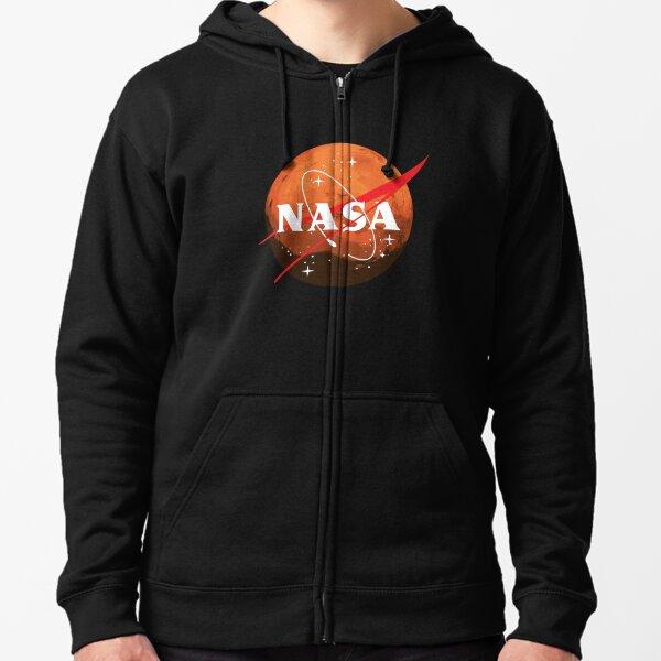 NASA Journey to Mars Zipped Hoodie