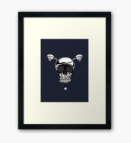 Baseball Skulls inc. Logo Framed Print