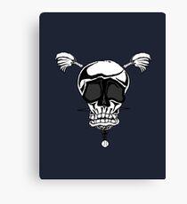 Baseball Skulls inc. Logo Canvas Print