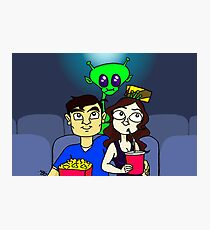 Sci-fi Movie Date Photographic Print