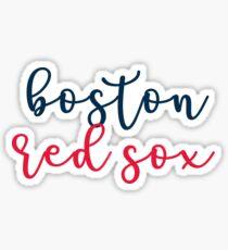 boston red sox Sticker