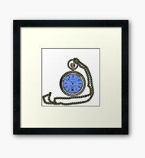 Gallifrey pocket watch  Framed Print