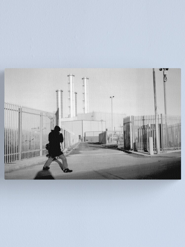 Alternate view of The Photographer Canvas Print