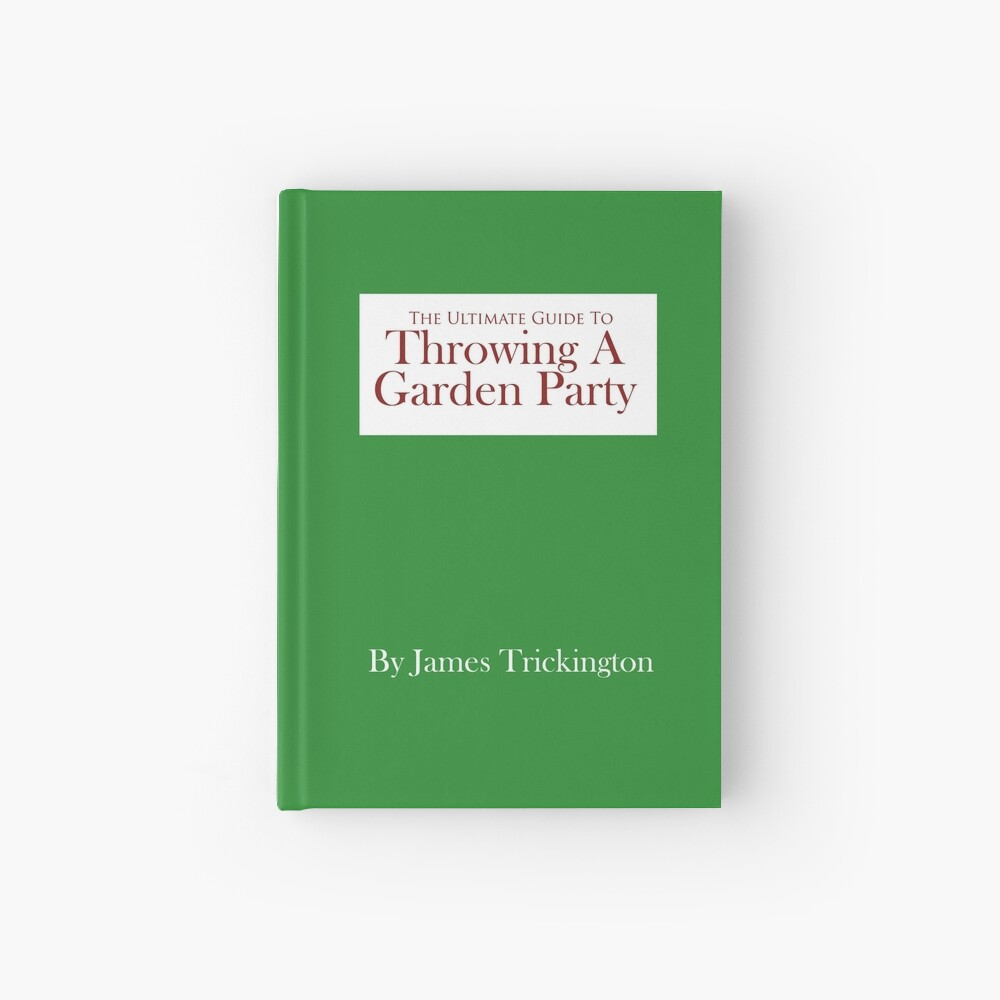 Throwing a Garden Party Hardcover Journal