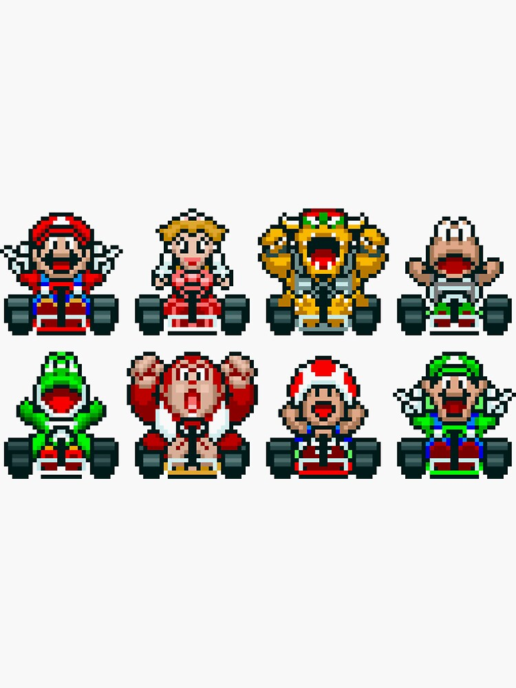 Super Mario Kart  by idaspark