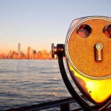 Manhattan from Ellis Island by pbt710