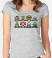 Super Mario Kart  Women's Fitted Scoop T-Shirt
